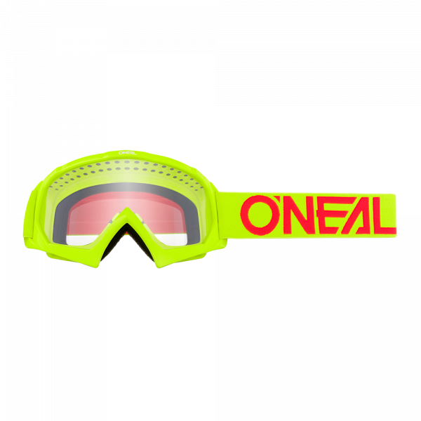 Oneal B-10 Youth Goggle SOLID yellow/red