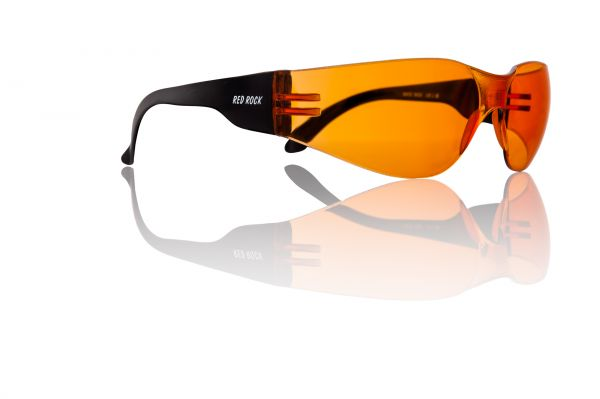 Red Rock Fahrradbrille orange